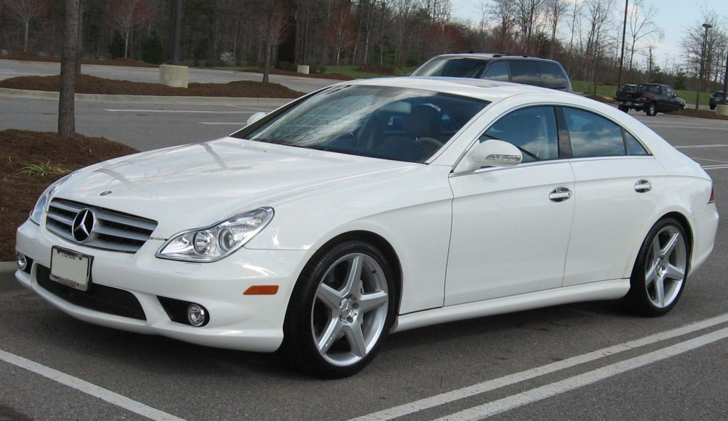 Used Mercedes-Benz CLS-Class car, CLS 55 AMG, C219 model