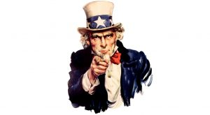 Uncle Sam calling to action